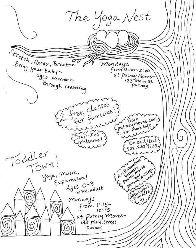 Yoga Nest + Toddler Town Flier - Mar 27 2018 - 1-00 AM